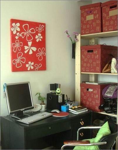 55平米小户型温馨家居装修效果图