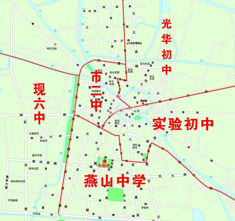 2010溧阳学区分布