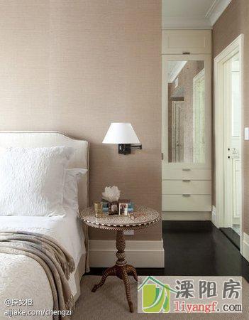 九种卧室装修细节必看 放一杯清水有助放松