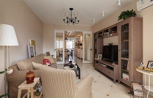 90平两居室温馨婚房设计 白领最爱北欧风简约搭配